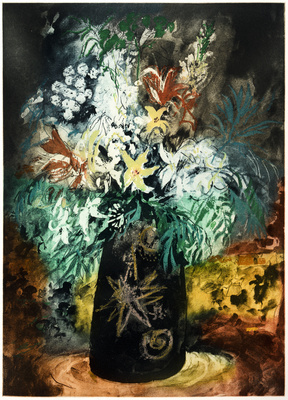 Flowers in a Black Pot, 1988