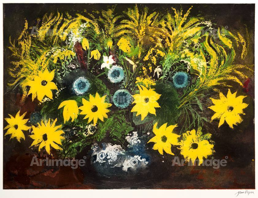 Enlarged version of Yellow Flowers, 1988