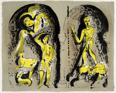 The Annunciation to the Shepherds, 1973