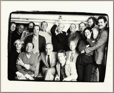 Leo Castelli and his artists, c.1980