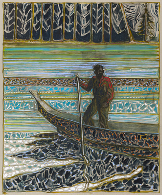 the great banks (after norman wilkinson) (version), 2014 By Billy Childish