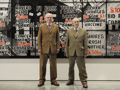 Gilbert and George, London, 2012 By Anne-Katrin Purkiss