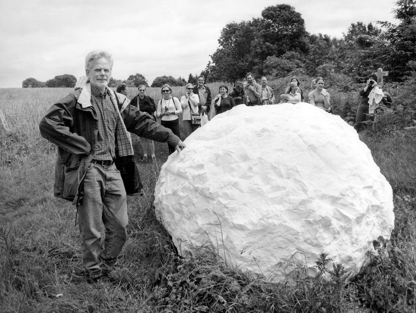 Andy Goldsworthy, Sussex, 2002