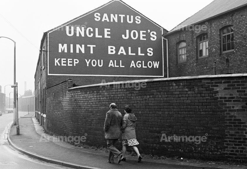 Enlarged version of North of England: Wigan, Lancashire, 1976