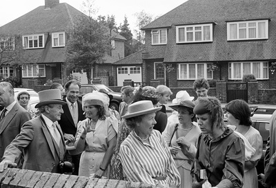 Home Counties Suburbia: wedding reception, Hayes, 1984