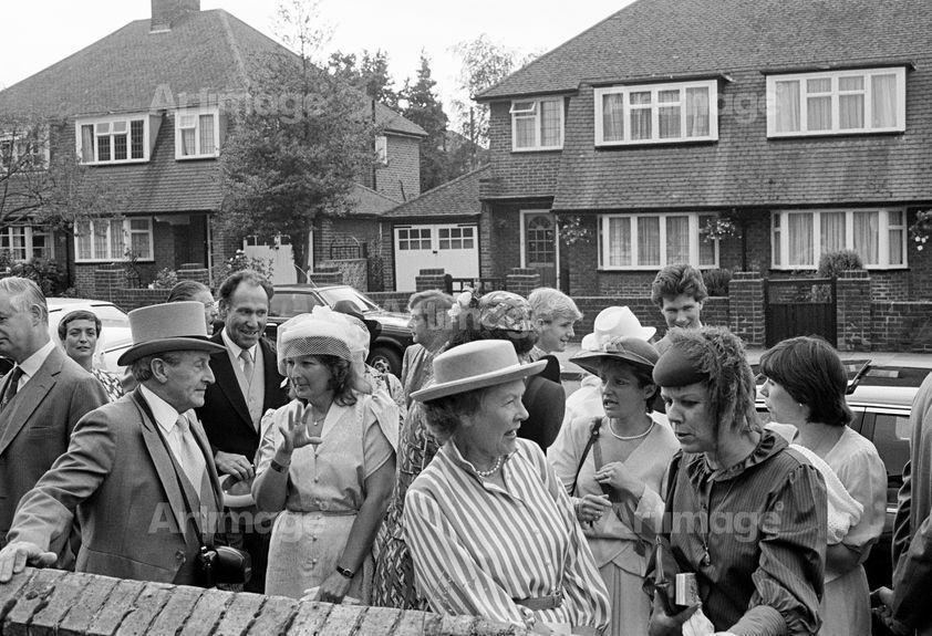 Enlarged version of Home Counties Suburbia: wedding reception, Hayes, 1984