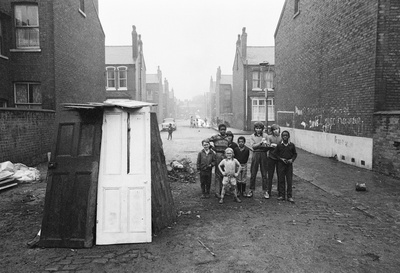 North of England: Bonfire night, Moss Side, Manchester, 1972