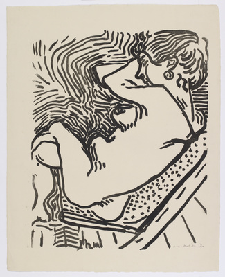 Le Grand Bois Large Woodcut, 1906
