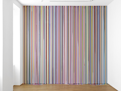 Ingleby Wall Painting (After Carpaccio), 2011 By Ian Davenport