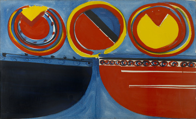 Red, Yellow and Blue, 1962
