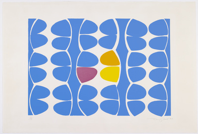 Alhambra Blue, 1974 By Terry Frost