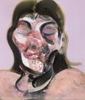 Three Studies of Henrietta Moraes, 1969  By Francis Bacon