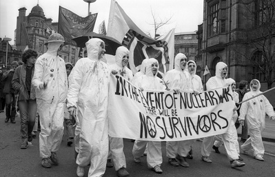 CND march, Sheffield, 10 April 1982 By Martin Jenkinson