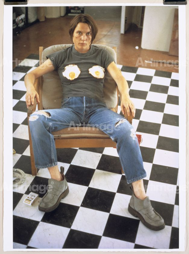 Self Portrait with Fried Eggs 1996, 1999