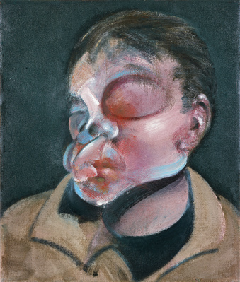 Self-Portrait with Injured Eye, 1972