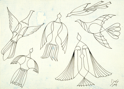 Birds in Flight, 1979