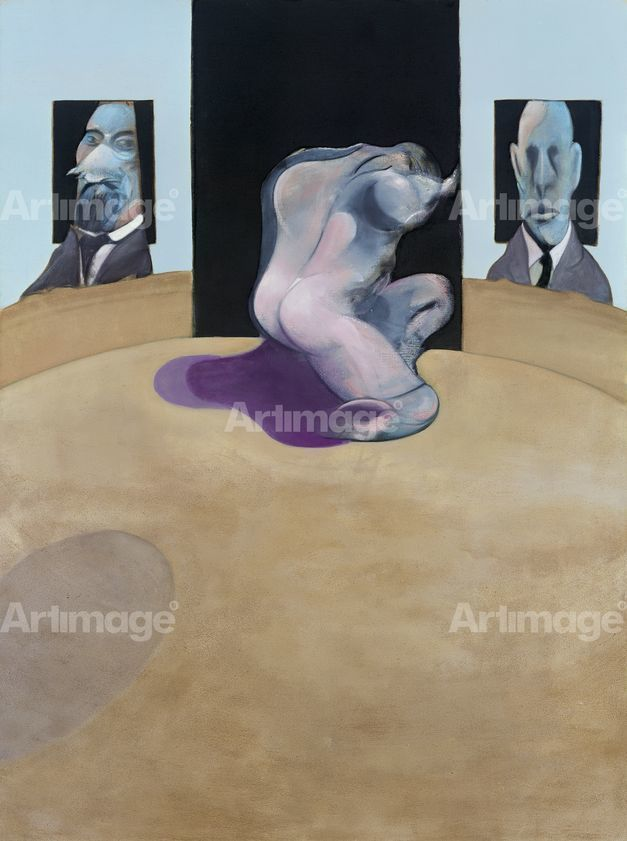 Enlarged version of Triptych 1974-77