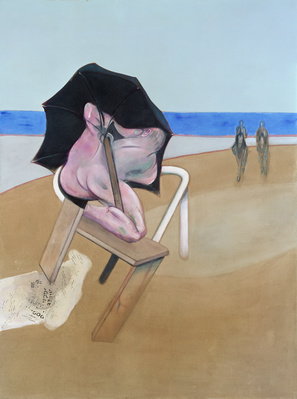 Triptych 1974-77 By Francis Bacon