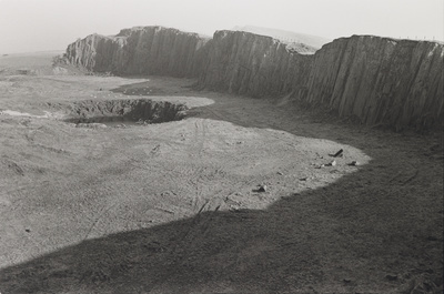 Disused Quarry Near Hadrian's Wall, Cumbria, England, 1980