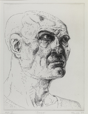 Johnie, 1987 By Peter Howson