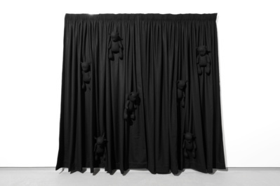 Black Curtain, 2015 By Permindar Kaur