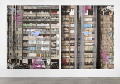 Gordon House (Diptych), 2013