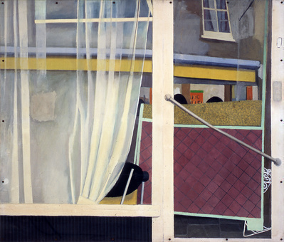 Hairdressers Window, 1969