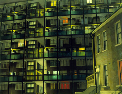 Camberwell Flats by Night, 1983