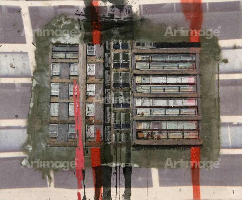 Enlarged version of Study for the Wandsworth Road Estate IV, 2006-2007
