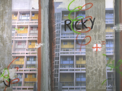 Highrise for Ricky, 2000 By David Hepher