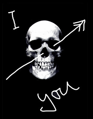 I Skull You, 2006 By Abigail Lane