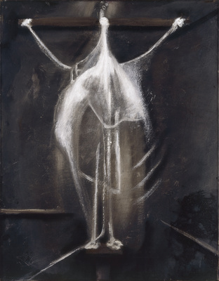 Crucifixion, 1933  By Francis Bacon