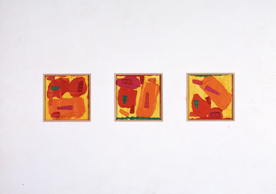 Pause and Juncture (triptych), 1969