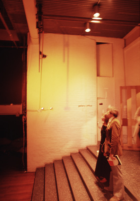 Installation for 'Electric Theatre' exhibition, ICA, 1971 By Barry Martin