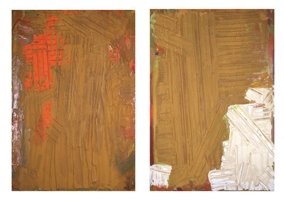 Red, Ochre and White, 1974