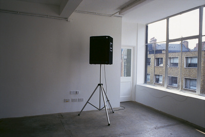 Work No. 95, All the sounds amplified, 1994