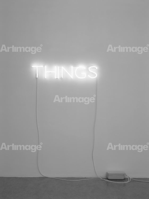 Enlarged version of Work No. 285, THINGS, 2002