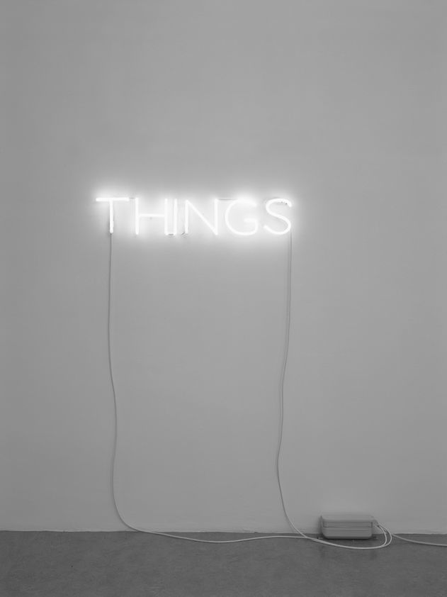Work No. 285, THINGS, 2002