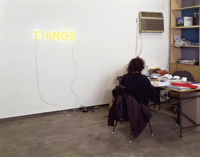 Work No. 221, THINGS, 1999  By Martin Creed