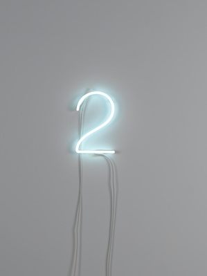 Work No. 283, 2, 2002  By Martin Creed