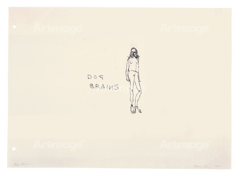 Enlarged version of Dog Brains, 1998