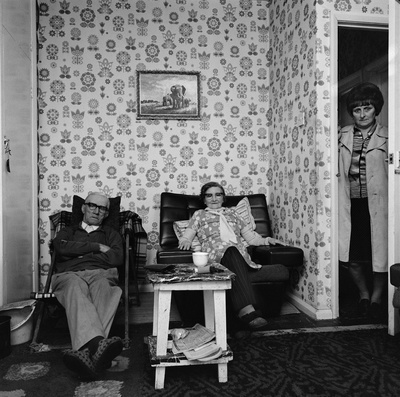 Jean Barron with parents Stanley and Margaret Wilson, Byker,... By Sirkka-Liisa Konttinen