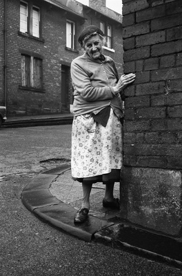 Mrs Potter of Mason Street, Byker, 1975