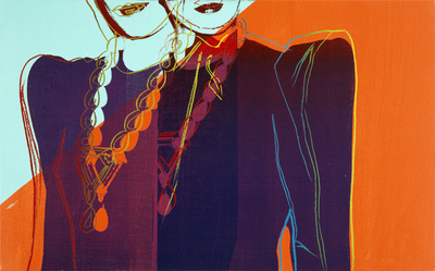 Fashion - Two Female Torsos With Necklaces, c.1983 By Andy Warhol