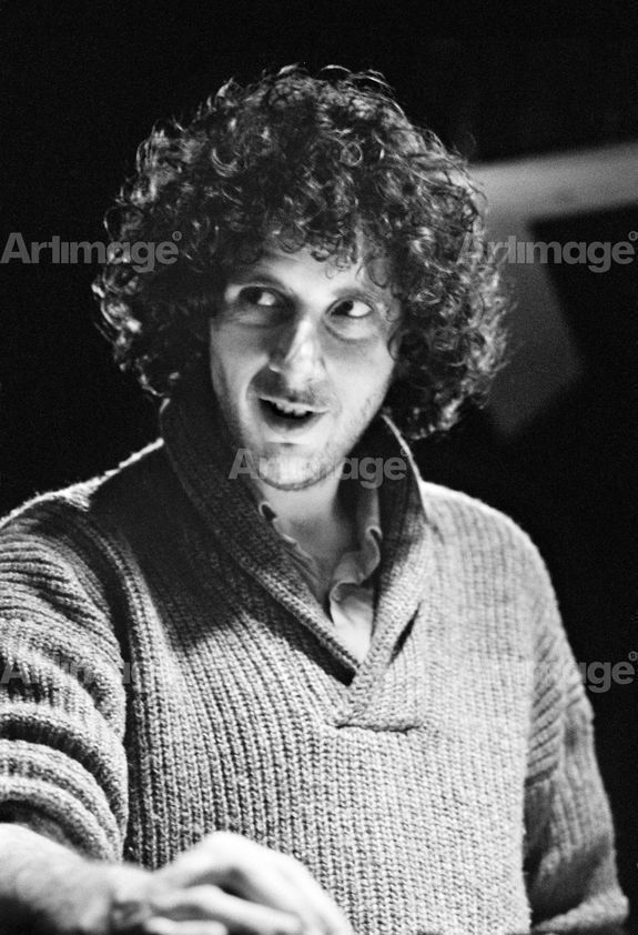 Enlarged version of Factory Records: Martin Hannett, Factory producer, Pennine Sound Studio, Oldham, 1980
