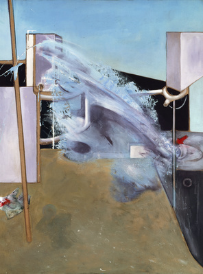 Jet of Water, 1979  By Francis Bacon