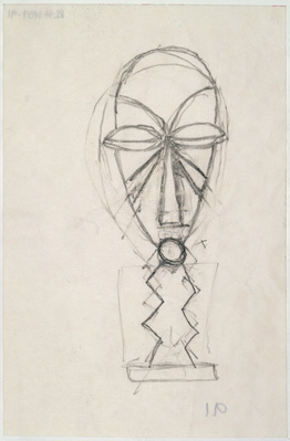 Sketch for Ritual Mask, 1991