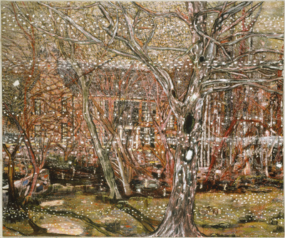 Rosedale, 1991 By Peter Doig