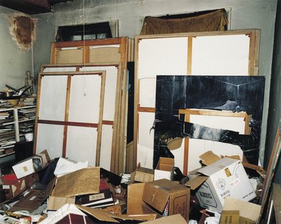 Francis Bacon's 7 Reece Mews studio, London, 1998 By Francis Bacon