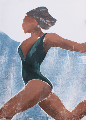 Beach Figure II, 1989